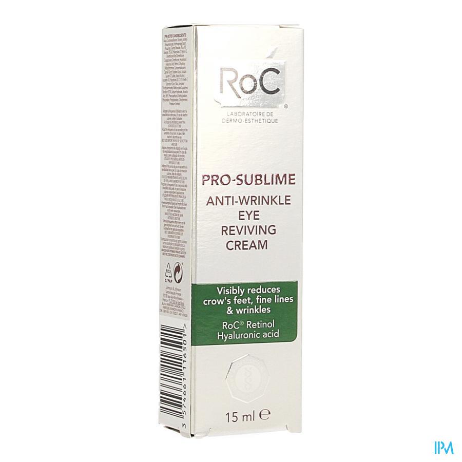 Roc Pro-sublime Cr A/rimpel Oogcontour Revit.15ml