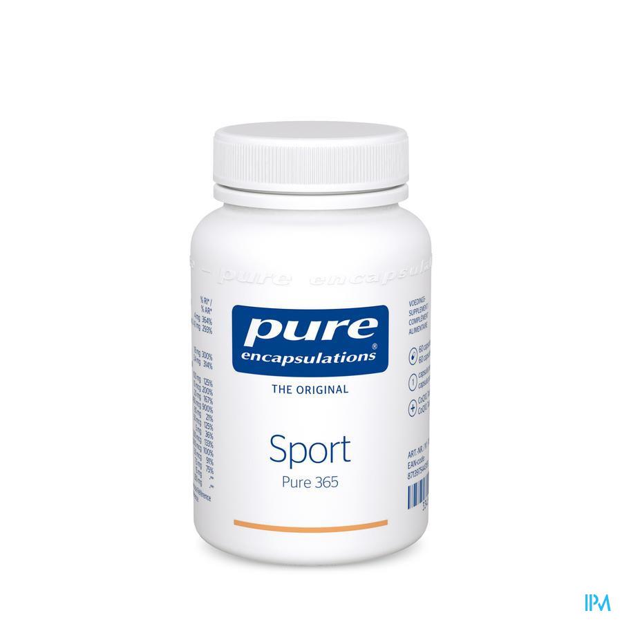 Pure Encapsulations Sport Caps 60
