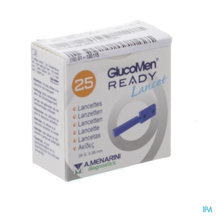 Glucomen Ready Lancets 28g 25 43977