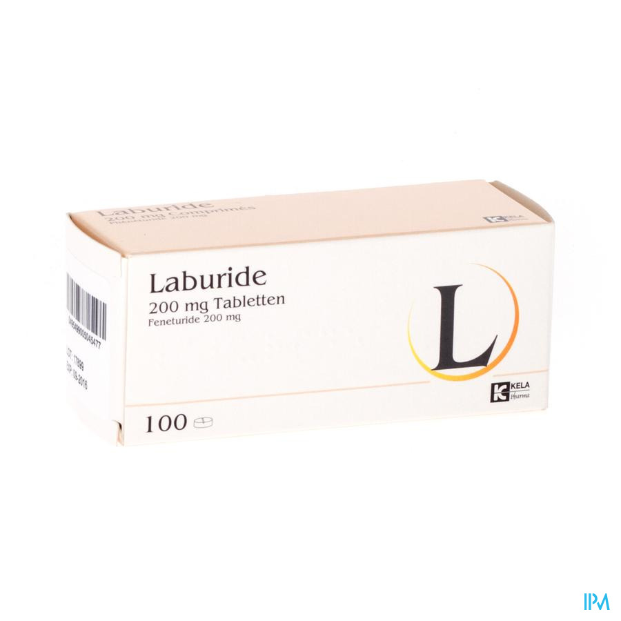 LABURIDE COMP  100 X 200 MG