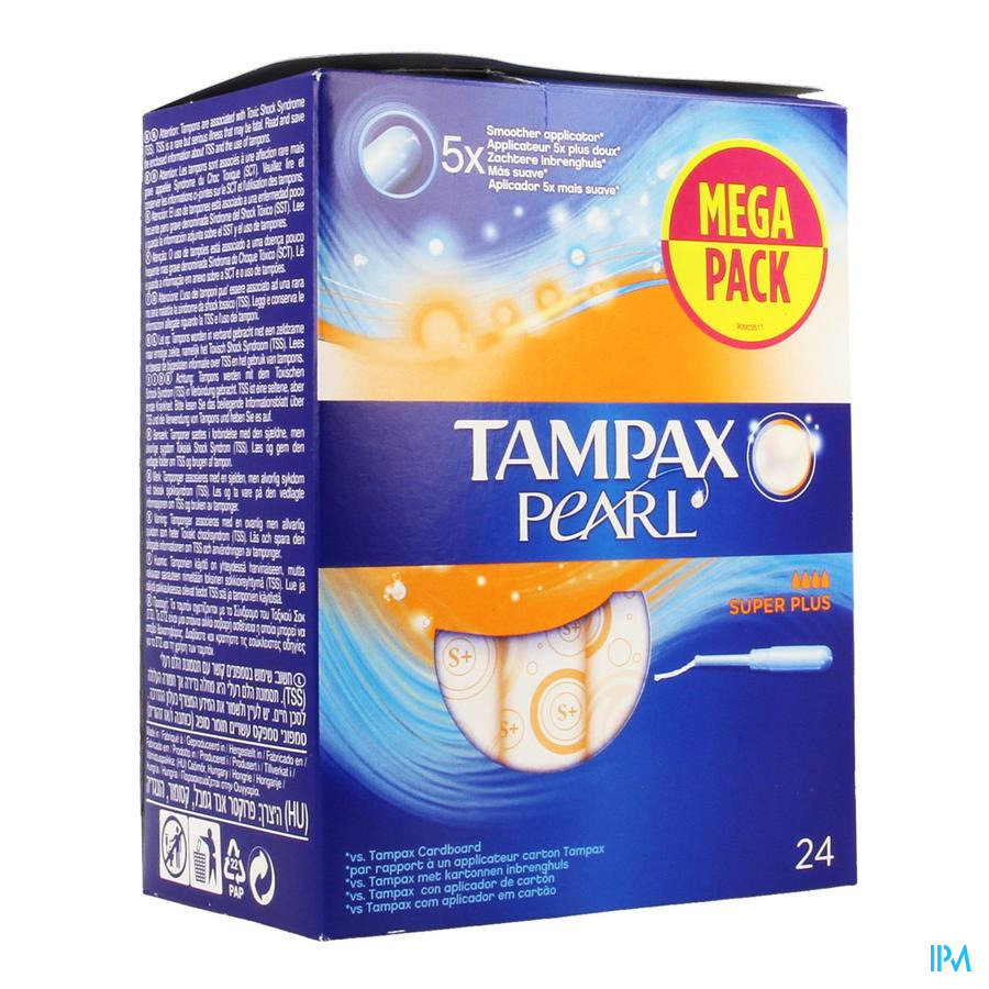 Tampax Pearl Super Plus 24