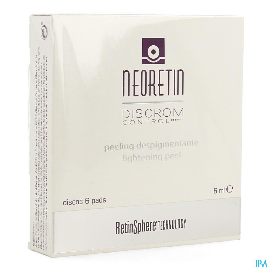 Neoretin Discrom Control Lightening Peel Pads 6