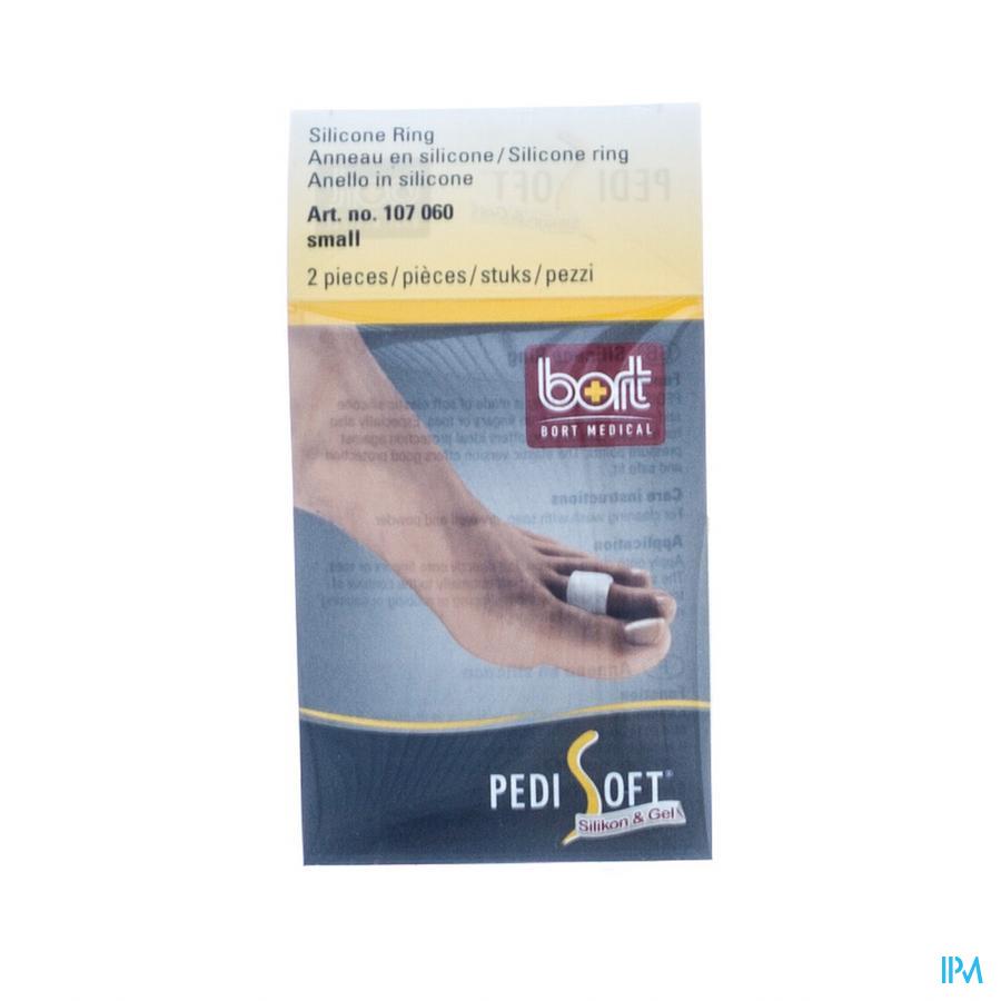 Bort Pedisoft Anneau Silicone Small 2 107060s