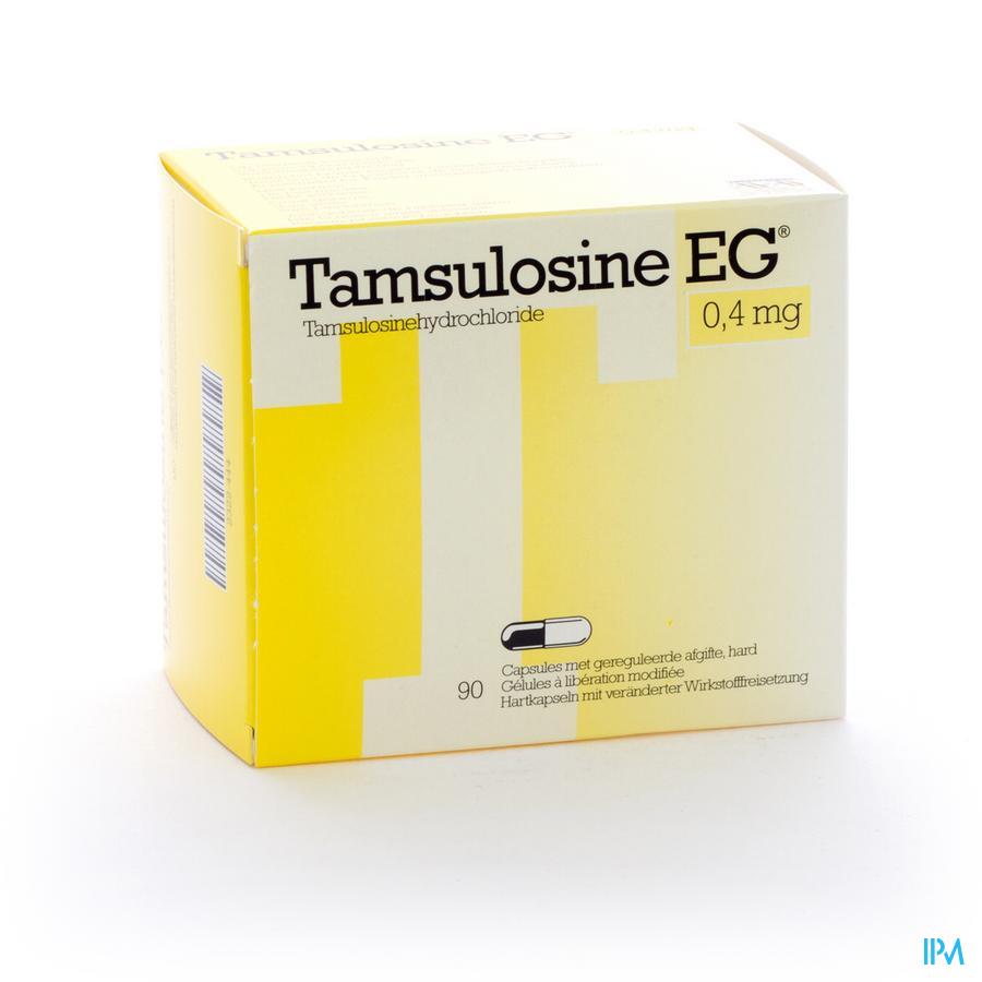 Tamsulosine Eg Caps 90 X 0,4mg