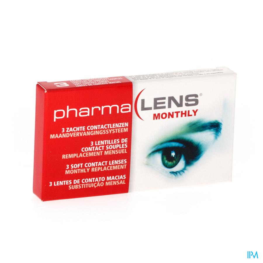 Pharmalens Monthly -3,75 3