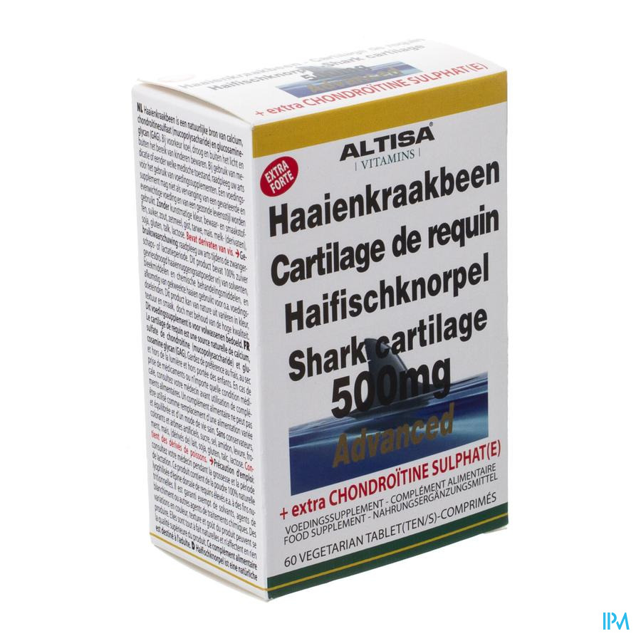 Altisa Cartilage De Requin 500mg Tabl 60