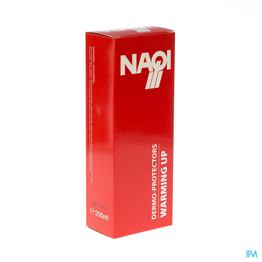 Naqi Warming Up Gel 200ml