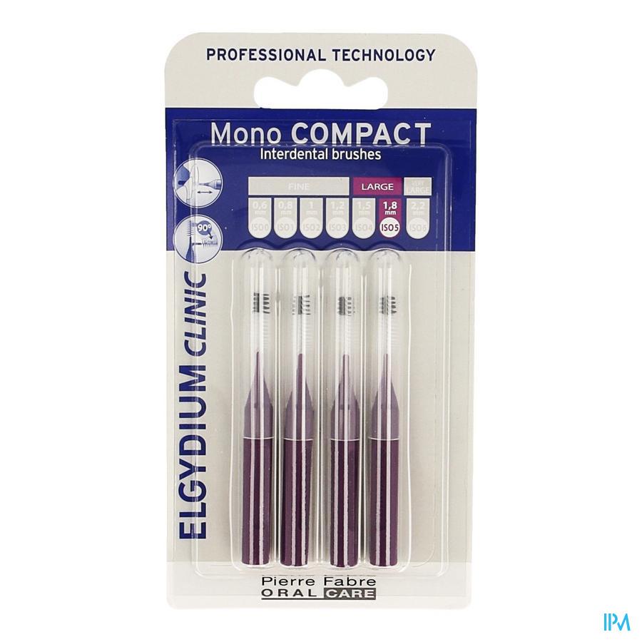 Elgydium Clinic Monocompact Purple