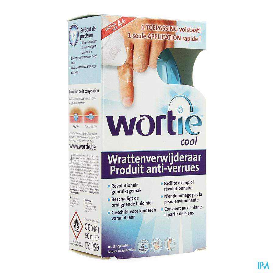 Wortie Wrat Cool +4j 50ml