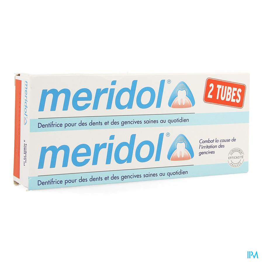 Meridol Dentifrice Duopack 2x75ml