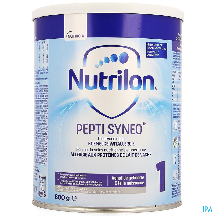 Nutrilon Pepti Syneo 1 Pdr 800g