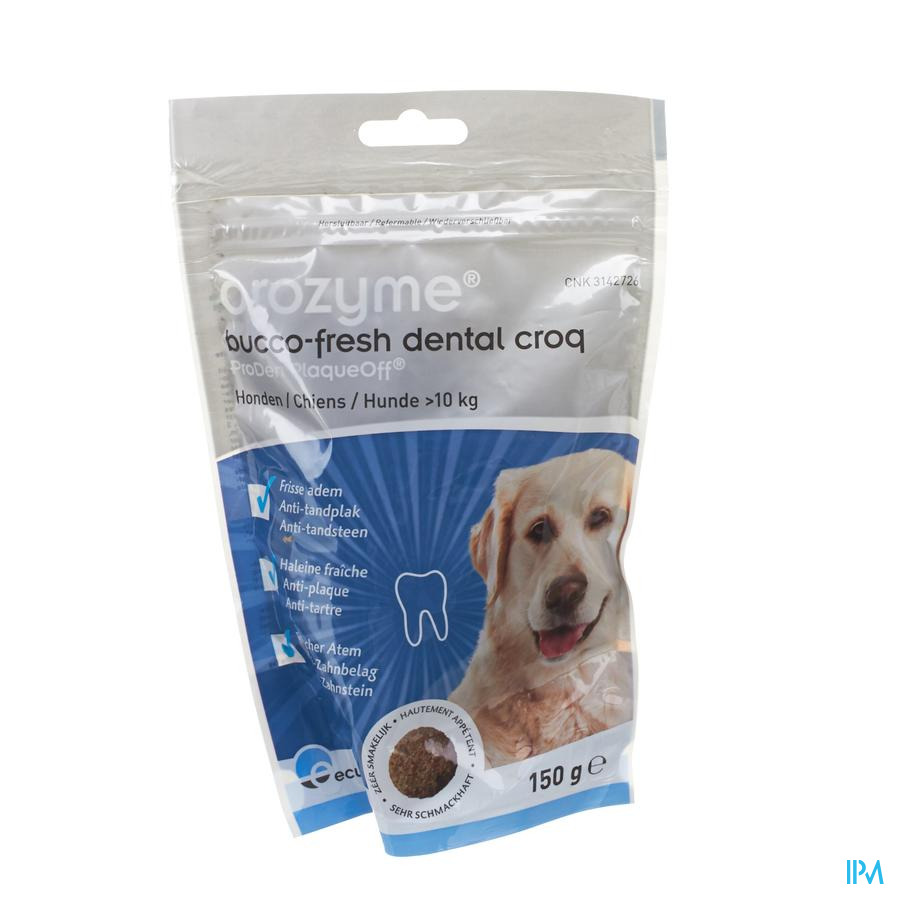 Orozyme Bucco-fresh Dental Croq Dog >10kg 150g