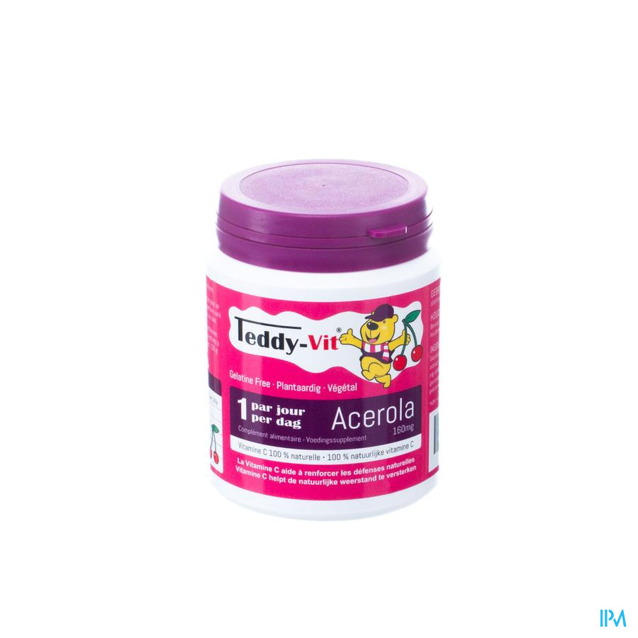 Teddy Vit Acerola 160mg Gomme Ours 50