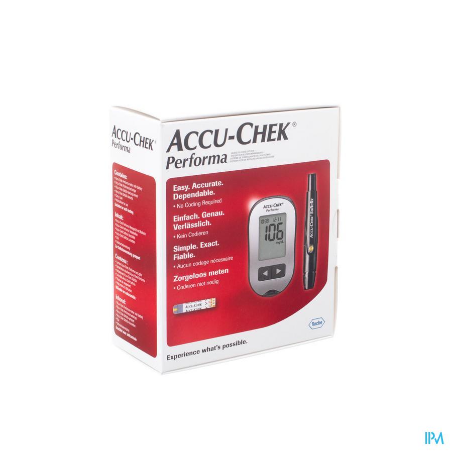 Accu Chek Performa Meetsyst.bloedglucos.cfr3643806