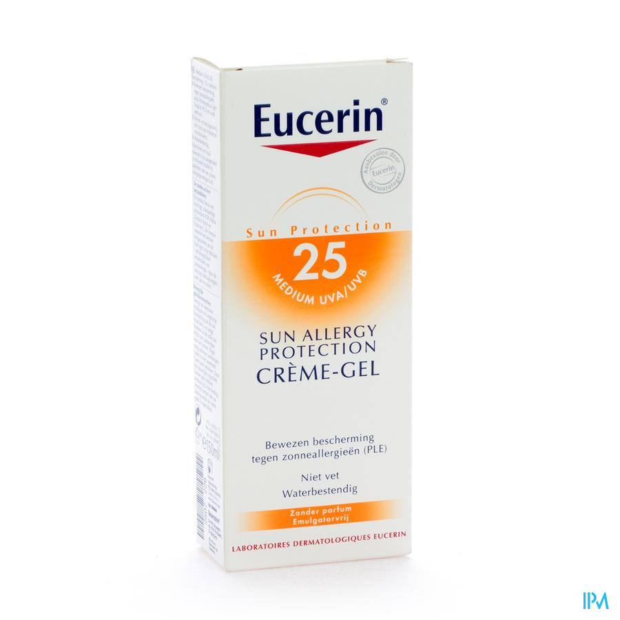 Eucerin Sun Allergy Cream Gel Ip25 150ml
