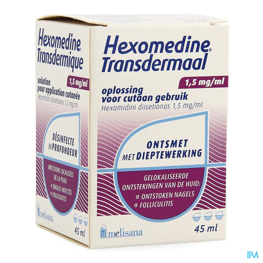 Hexomedine Solution 45 ml Transcut