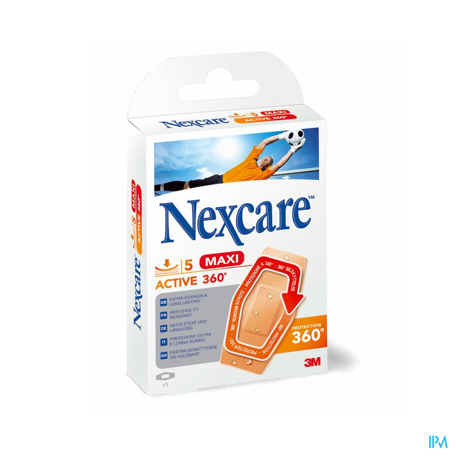 NEXCARE 3M ACTIVE STRIP 360 MAXI 5