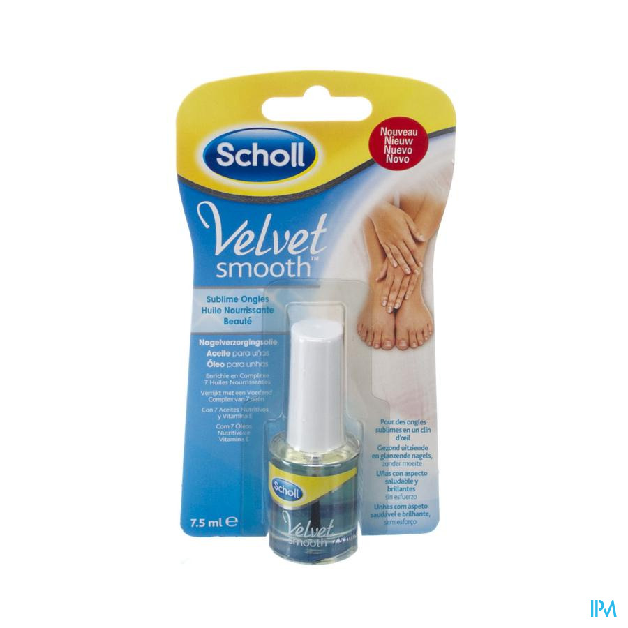Scholl Velvet Smooth Nagelverzorg. Olie 7,5ml