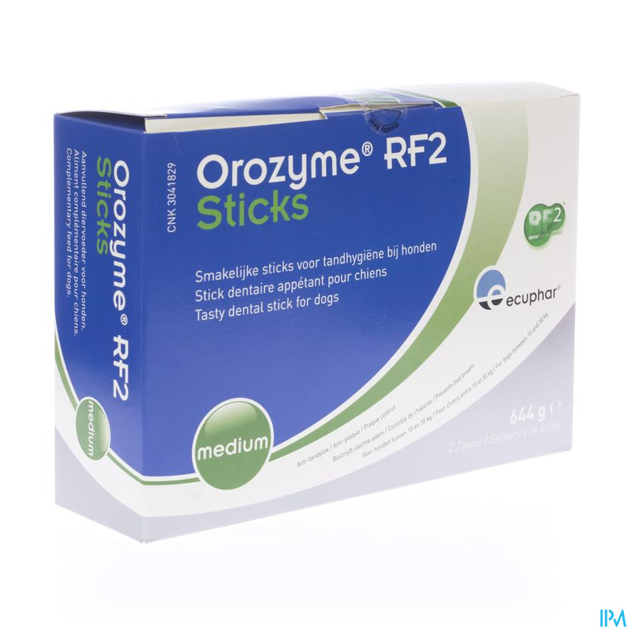 Orozyme Rf2 Smakelijke Stick Hond Medium 28