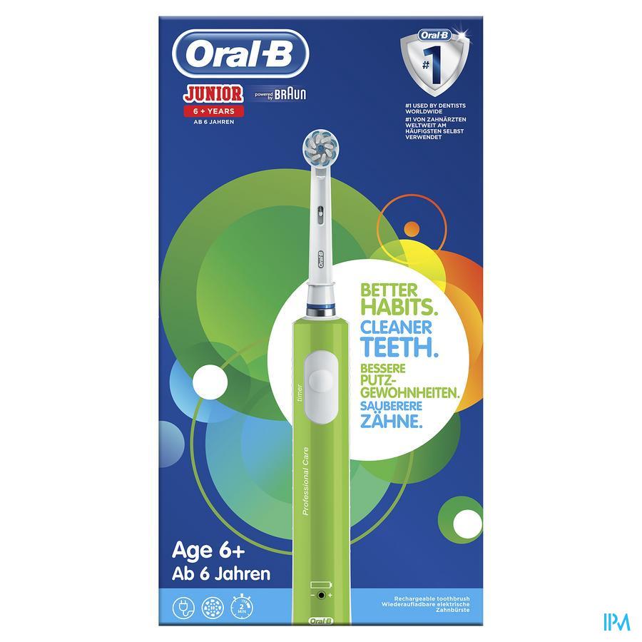 Oral-b Tandenborstel Vitality Junior 6+ Groen