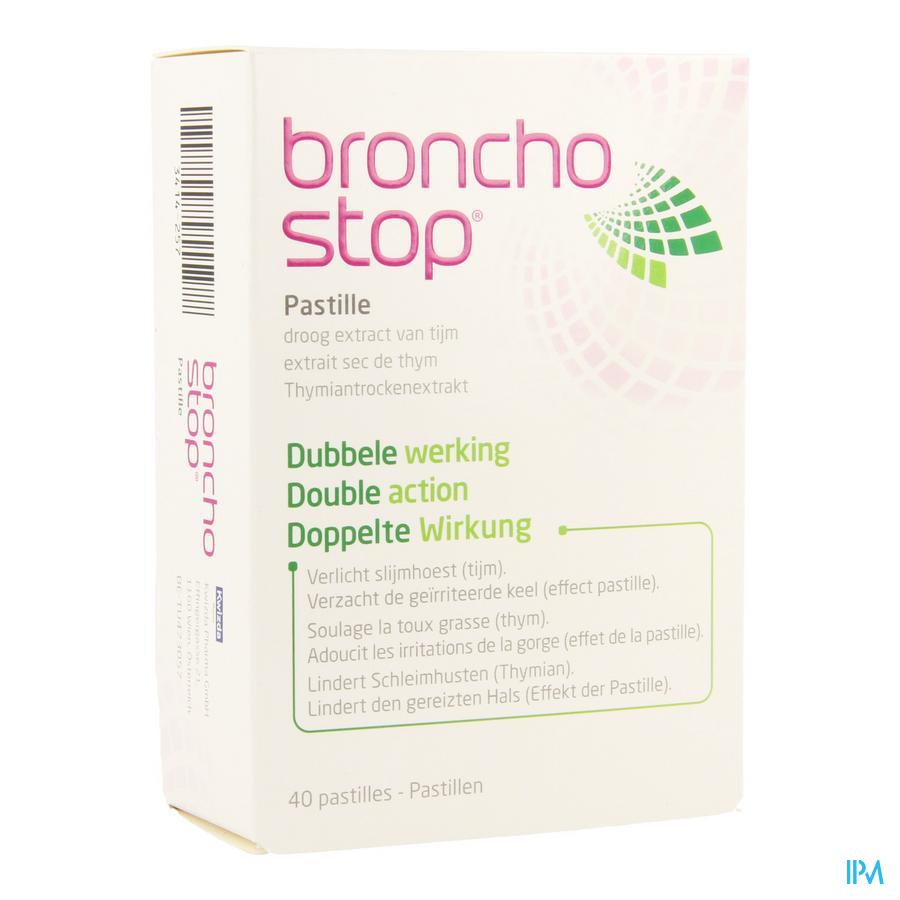 Bronchostop Pastilles 40