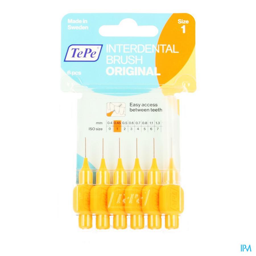 Tepe Interdental Brush 0,45mm Orange 6