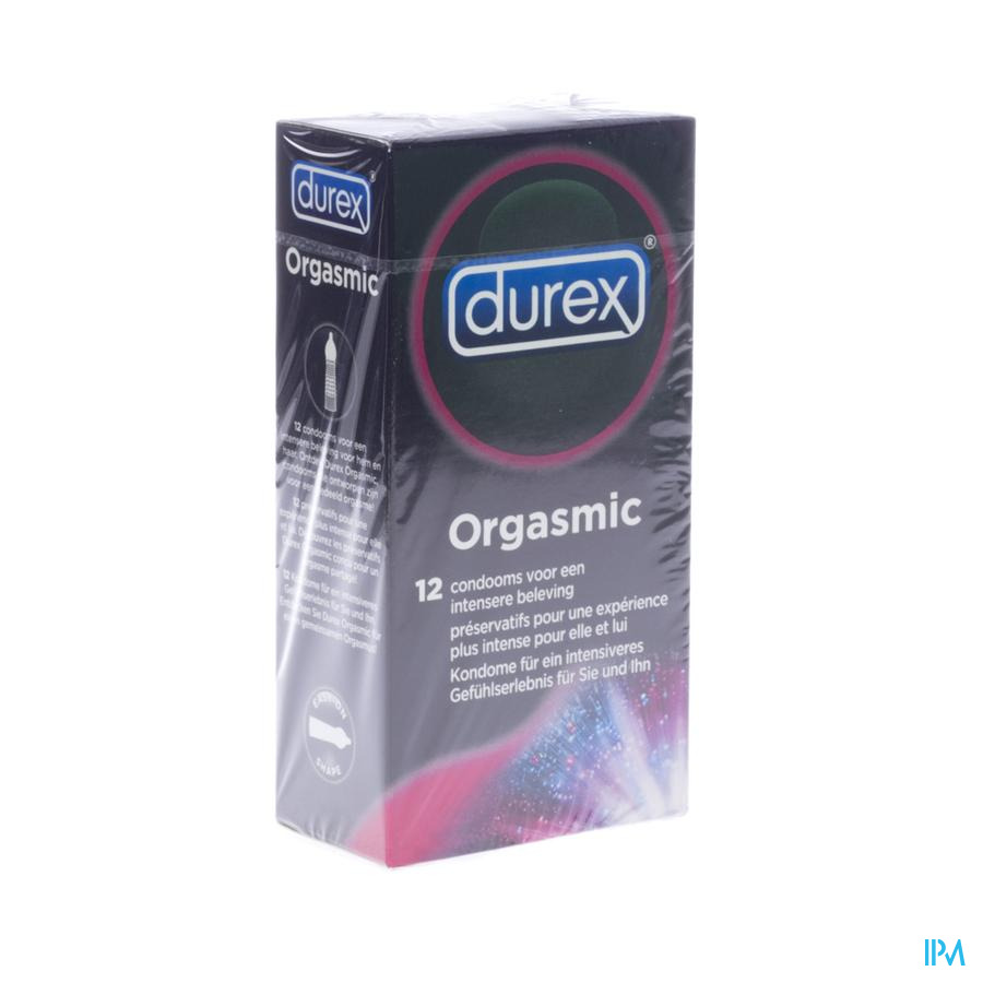 DUREX ORGASMIC CONDOMS 12