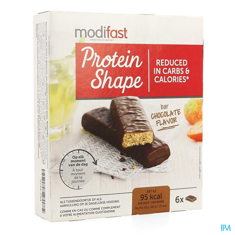 Modifast Protein Shape Reep Choc.6x27g Cfr.2901866