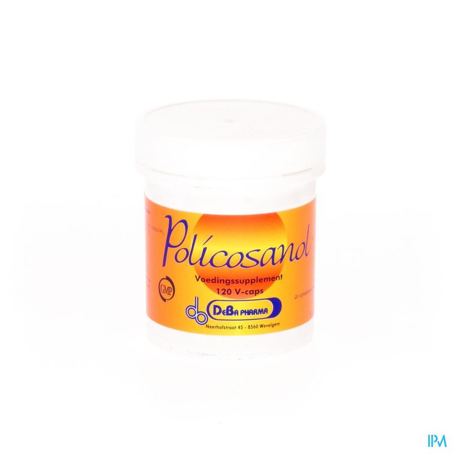 Policosanol Caps 120x10mg Deba