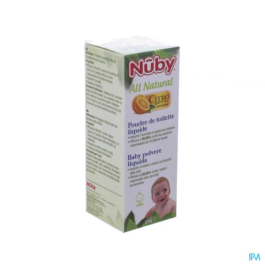Nûby Citroganix Vloeibaar babypoeder – 125ml - 0m+