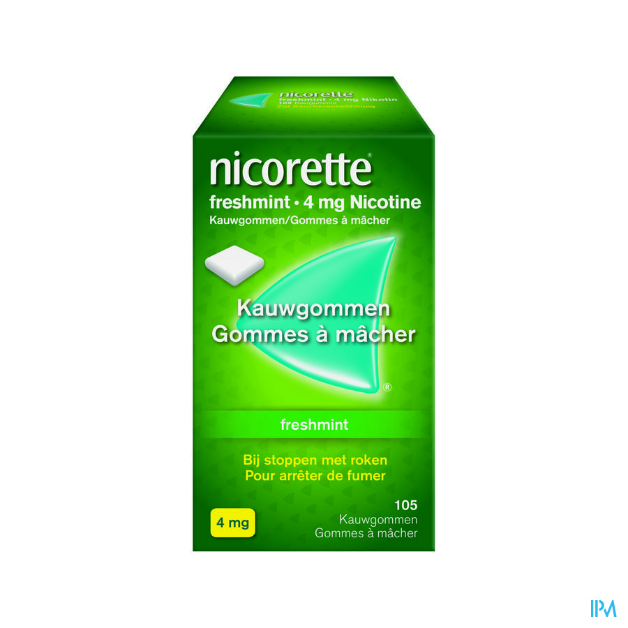 Nicorette Freshmint Gomme Mach 105x4 mg