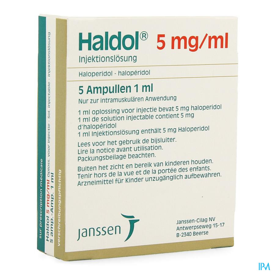 Haldol Amp 5 X 5mg/1ml