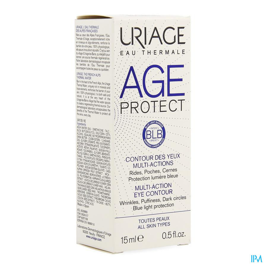 Uriage Age Protect Contour Ogen Multi Actions 15ml