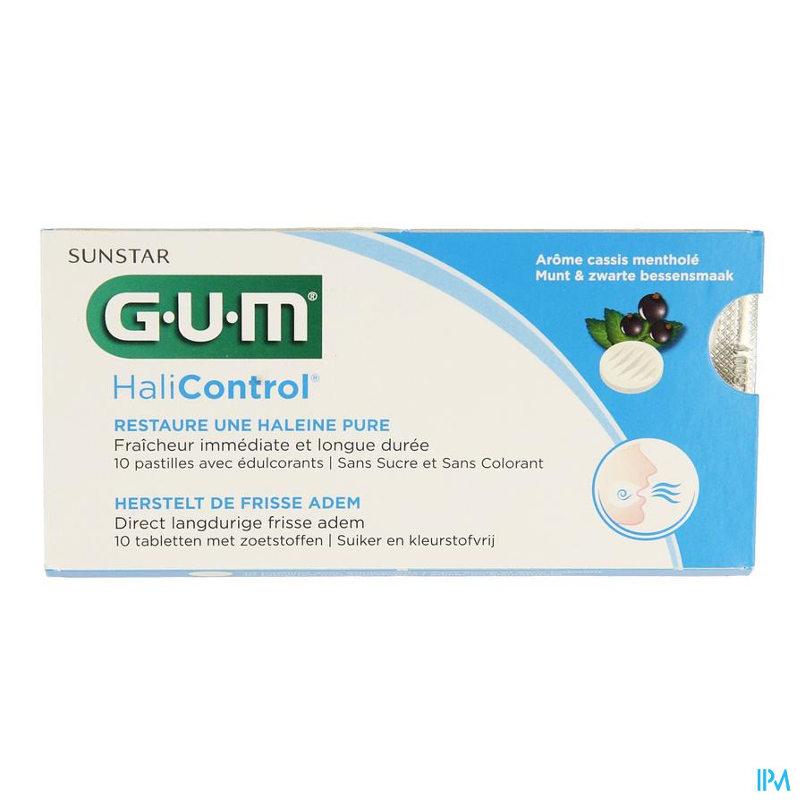 GUM® HaliControl® Pastilles 10 pc