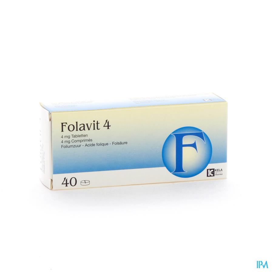 FOLAVIT 4MG 40TAB