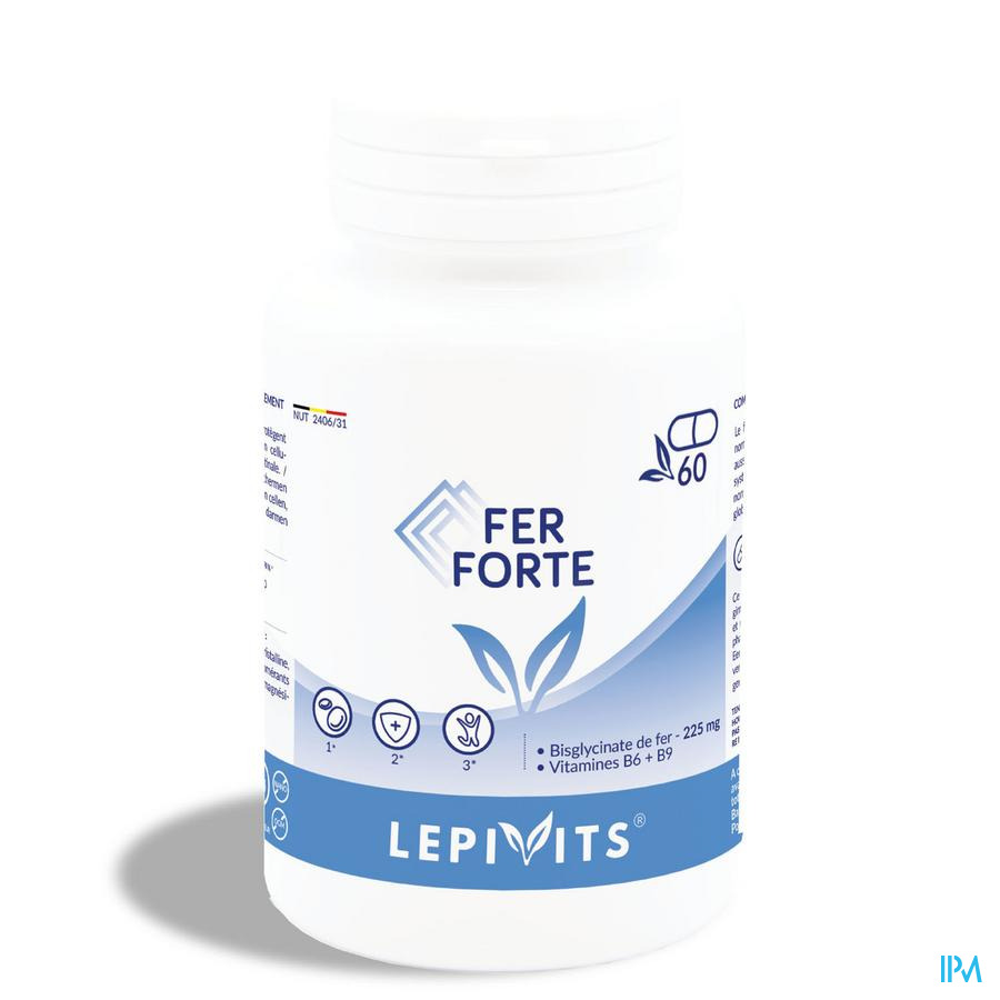 LEPIVITS Fer Forte  60 Caps