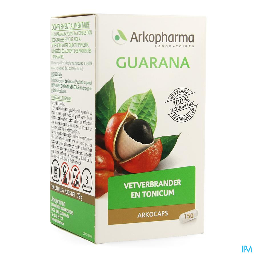 Arkogelules Guarana 150