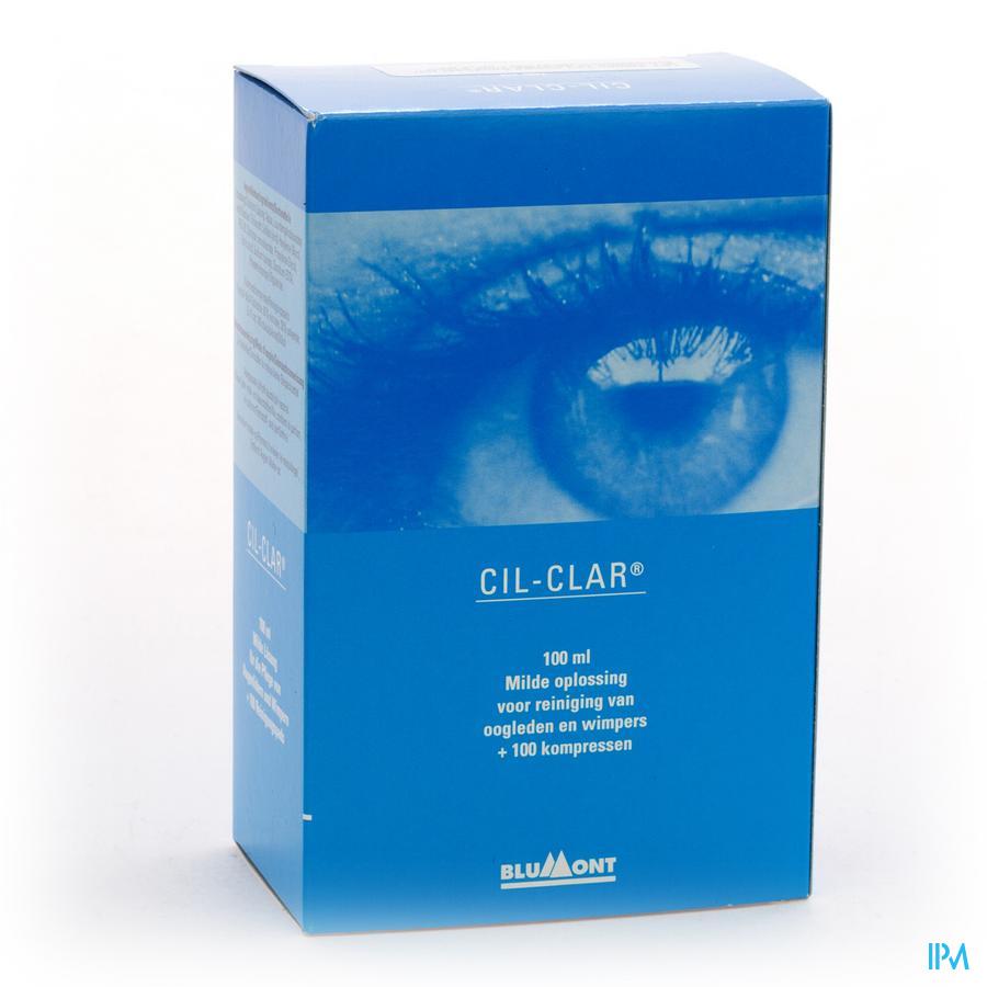 Cil-clar Hygiene Paupiere 100ml+cp 100