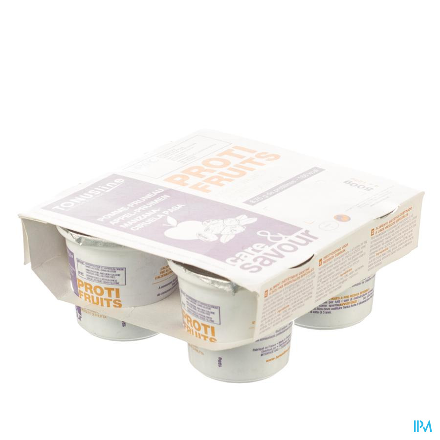Proti-fruits Appel-pruim Pot 4x125g