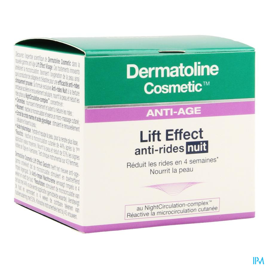 Dermatoline Cosmetic Le A/ride Cr Nuit 50ml