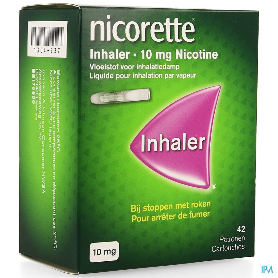 Nicorette Inhaler 10 mg 42+mondstuk