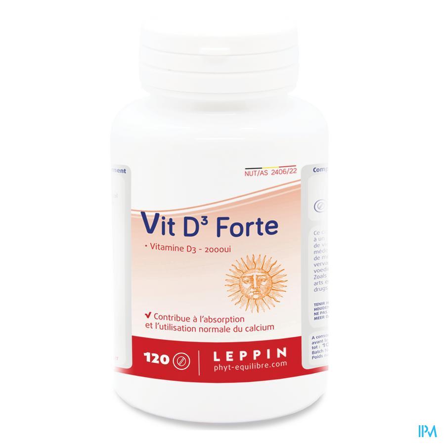 Leppin Vit D3 Forte Comp 120