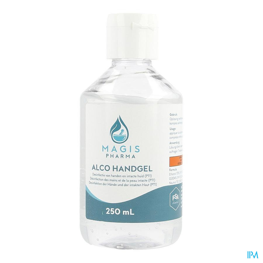 Alco Handgel 250ml Magis Ph