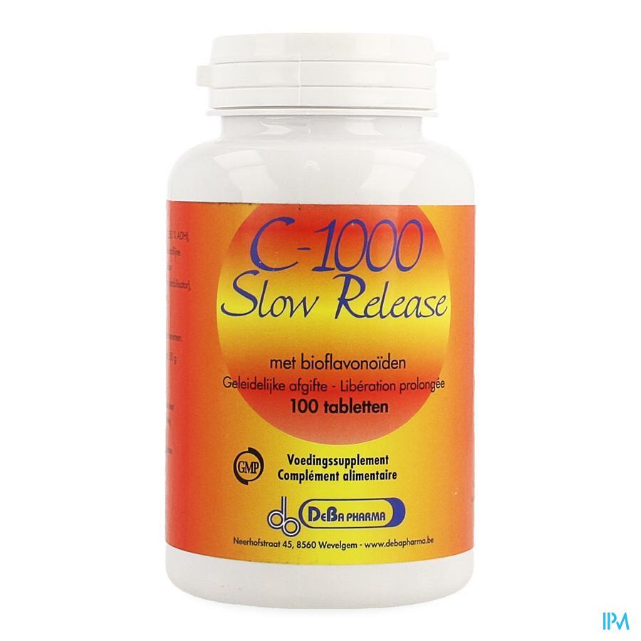 C-1000 Slow Release Plus Bioflavon. Comp 100 Deba