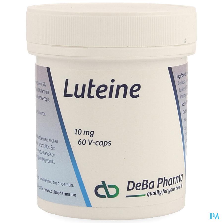 Luteine V-Capsule 60x10 mg Deba