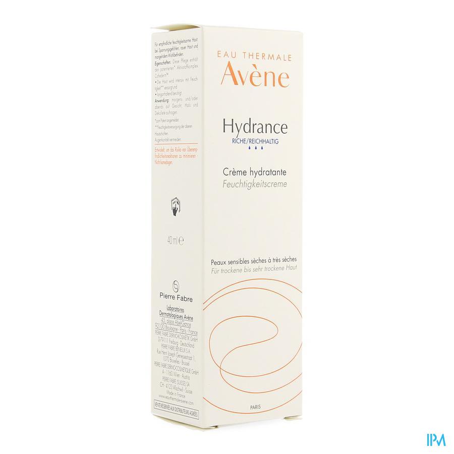 Avene Hydrance Riche Creme 40ml