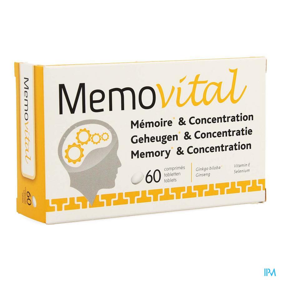 Memovital Filmtabletten 60