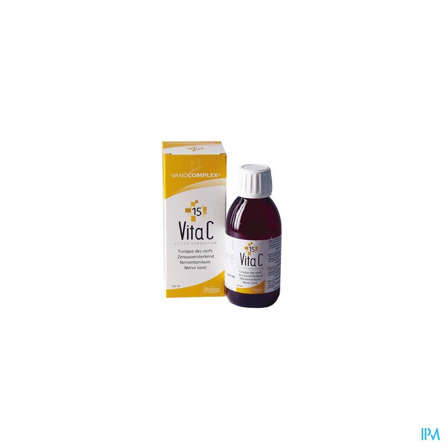 Vanocomplex N15 Vita C Siroop 150 ml Unda