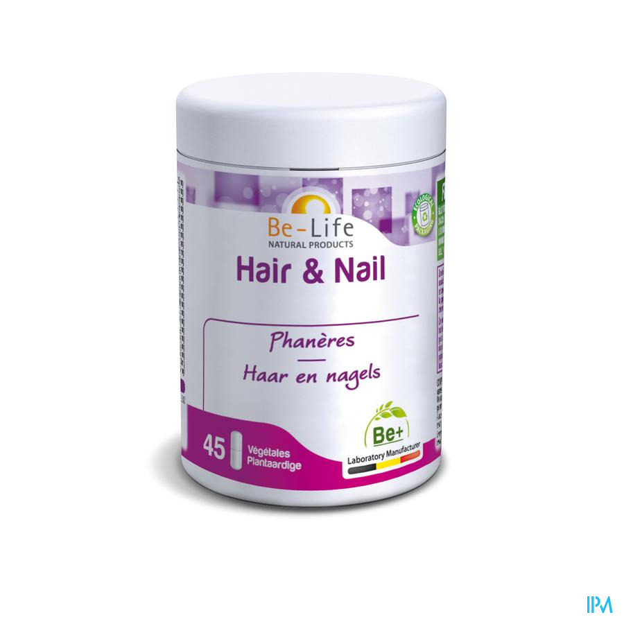 Hair & Nail Be-life Pot Caps 45