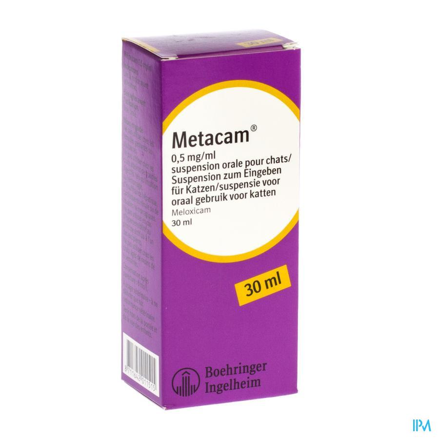 Metacam Susp Oral 0,5mg/1ml 30ml Chats